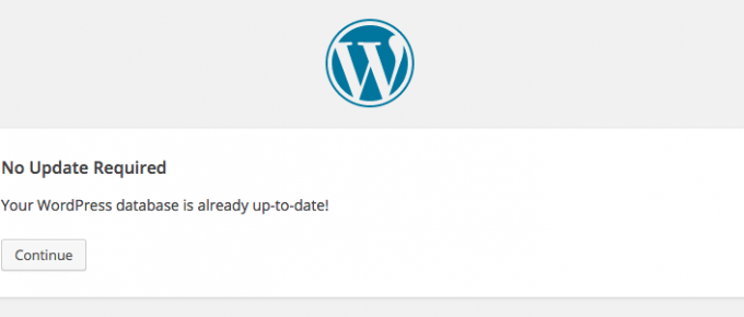 WordPress Error: upgrade.php?_wp_http_referer